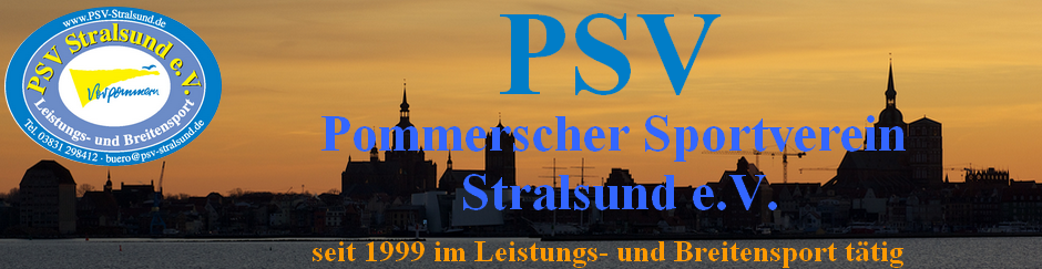 Pommerscher Sportverein Stralsund e.V. Logo